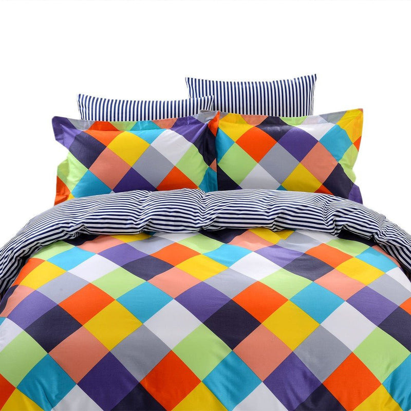 Dolce Mela Chios Queen Size Duvet Cover Set