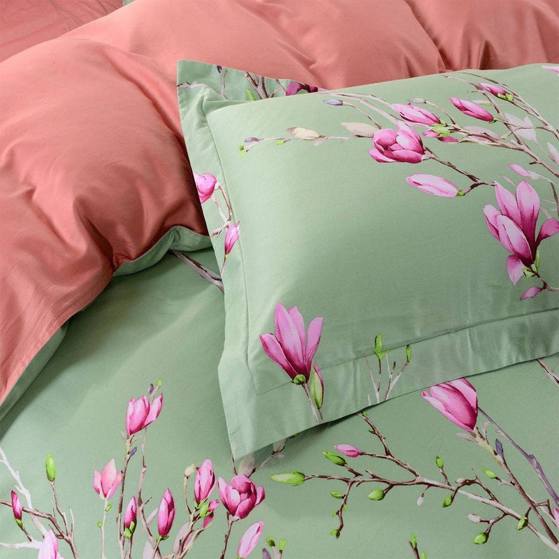Dolce Mela Kiev Queen Size Duvet Cover Set