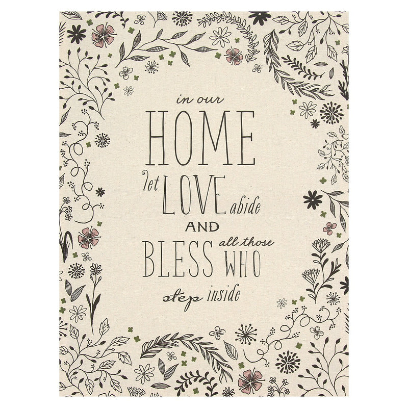 Multi Color Home and Blessings Wall Art by Stratton Home Decor