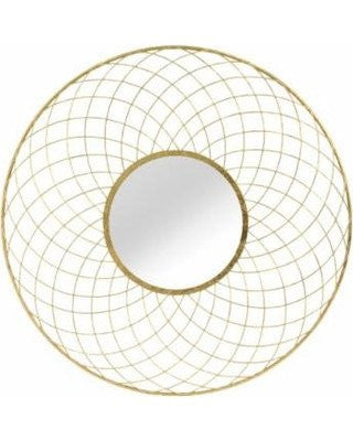 Gold Shellby Wall Mirror