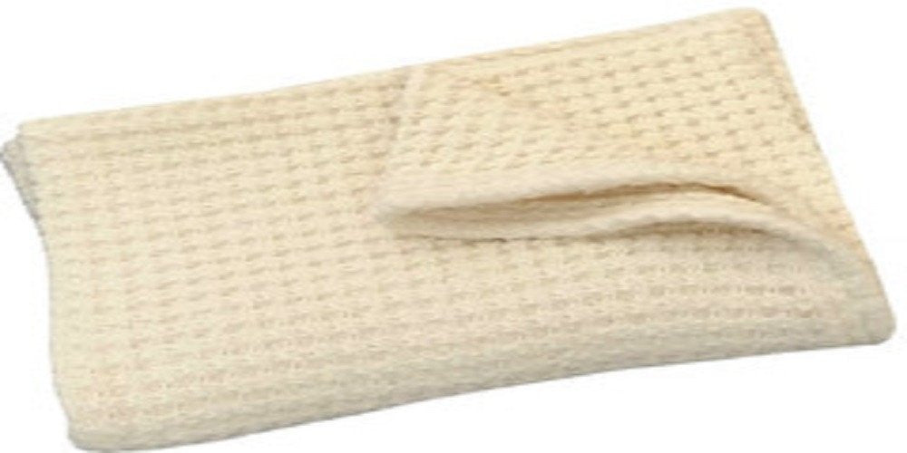 Organic Cotton Large Waffle Weave Natural Blanket