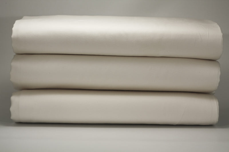 Sateen White Boudoir Pillowcase