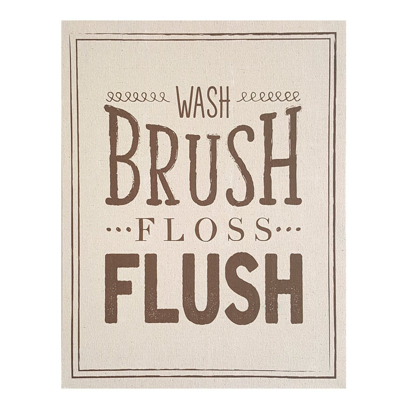 Multi Color Wash Brush Floss Flush Wall Art by Stratton Home Decor