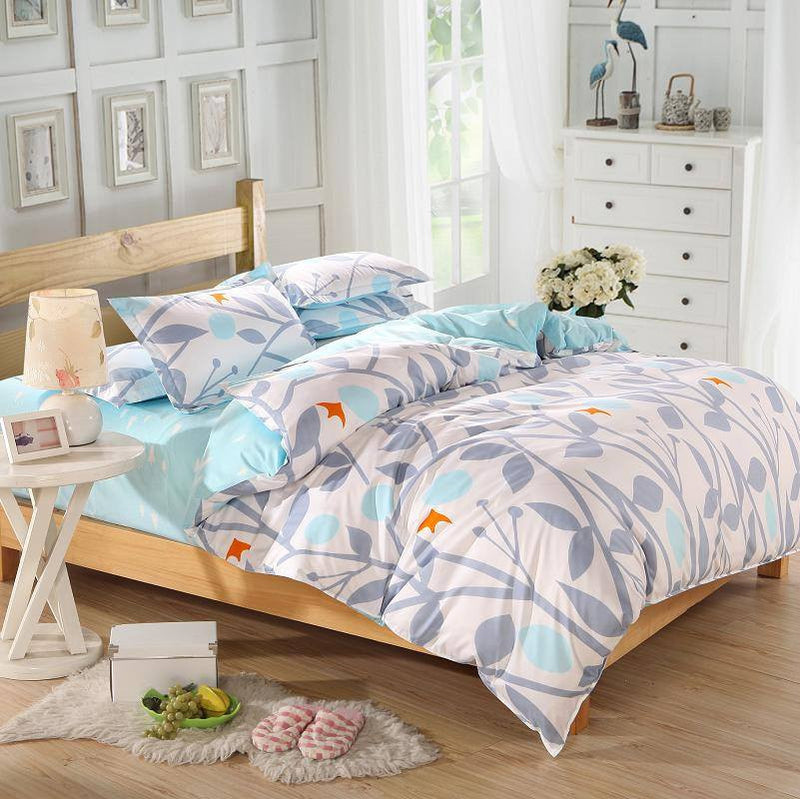 Bird and Nature Themed Duvet Cover Bedding Set   Upgrading Quality
