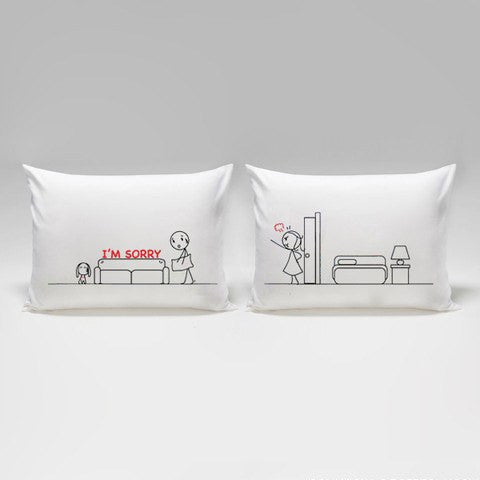 I m Sorry  Couples Pillowcase   Upgrading Quality