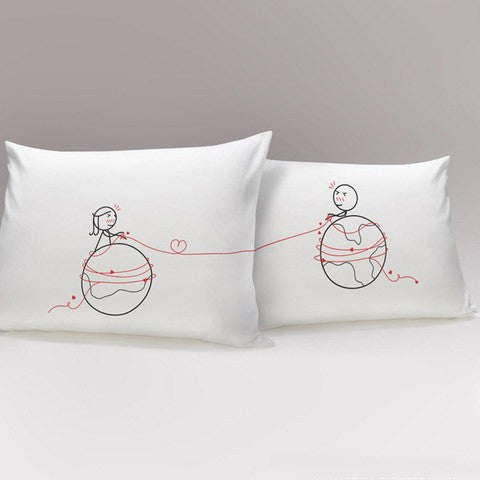 Tangled Up World Couples Pillowcase   Upgrading Quality