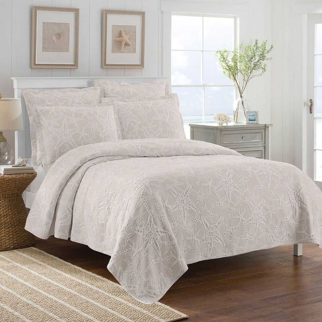 Lamont Home Calypso Taupe Coverlet