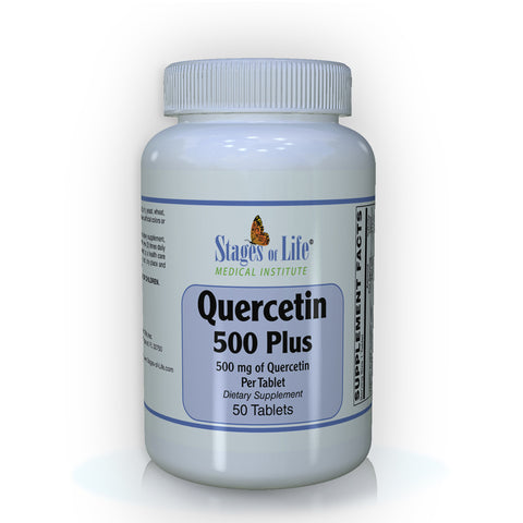 Quercetin - 500 mg - 50 Tablets