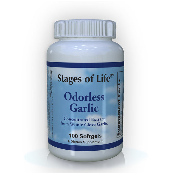 Odorless Garlic - 100 Capsules