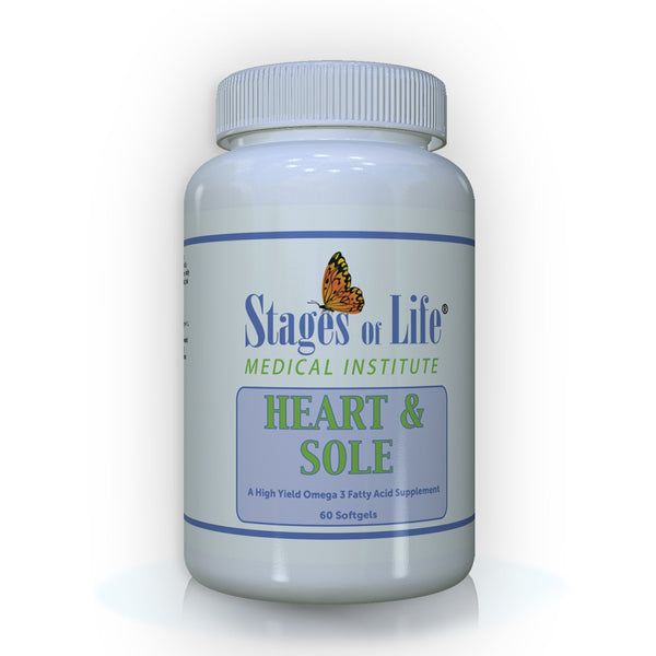 Heart & Sole - Omega 3 - 60 Softgels