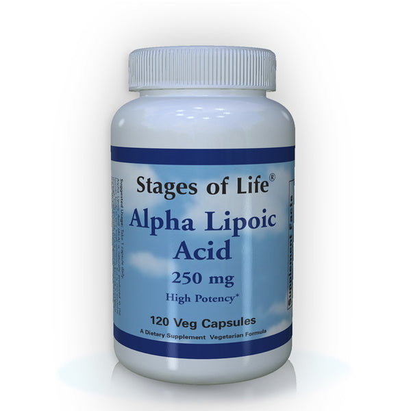 Alpha Lipoic Acid - 250 mg - 120 Capsules