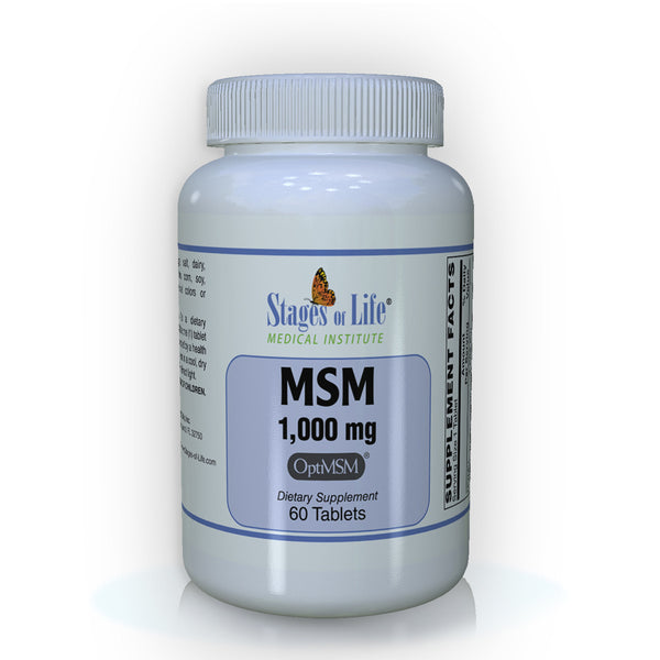MSM - 1000 mg - 60 Tablets