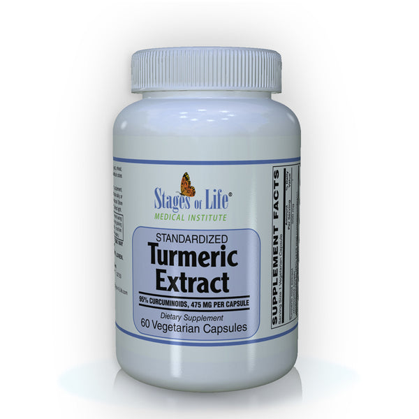 Turmeric Root Extract - 475 mg - 60 Capsules