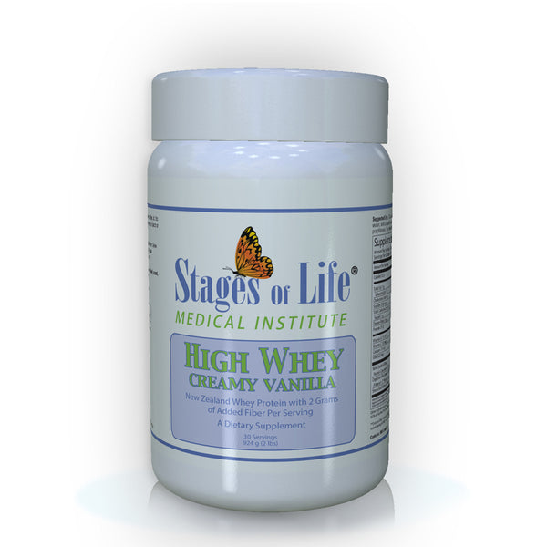 High Whey Protein Powder - Creamy Vanilla - 30 Servings