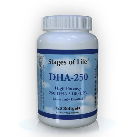 DHA - 250 DHA/100 EPA - 120 Softgels