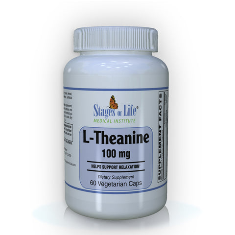 L-Theanine - 100 mg - 60 capsules