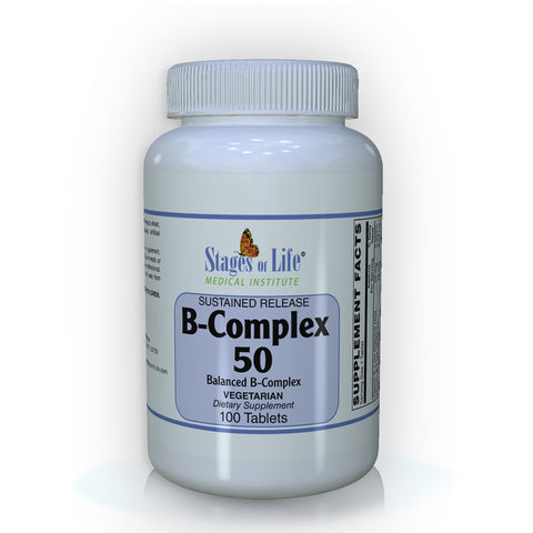 B-Complex 50 Sustained Release - 100 Tablets