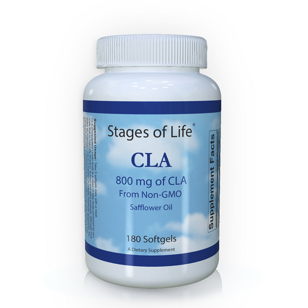 CLA (Conjugated Linoleic Acid) - 800 mg - 180 Softgels