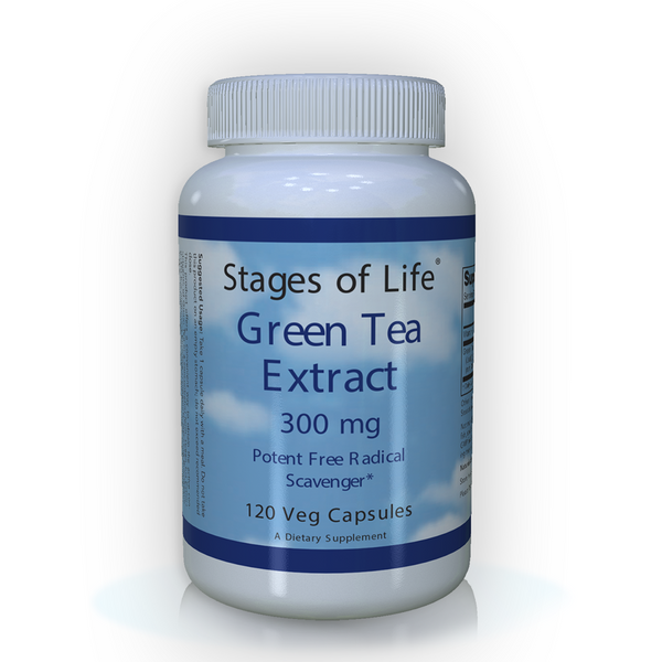 Green Tea Extract - 300mg - 120 Capsules