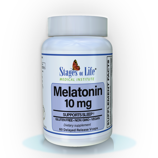 Melatonin - 10 mg - 60 Capsules