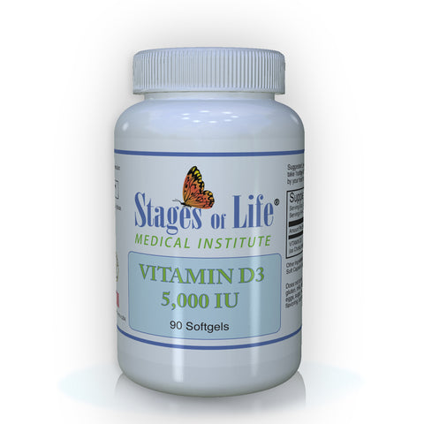 Vitamin D3 - 5,000 IU - 90 Softgels