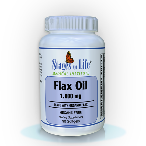 Flax Oil - 1000 mg - 90 Softgels