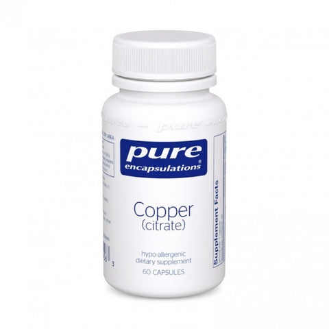 Copper Citrate - 60 Capsules
