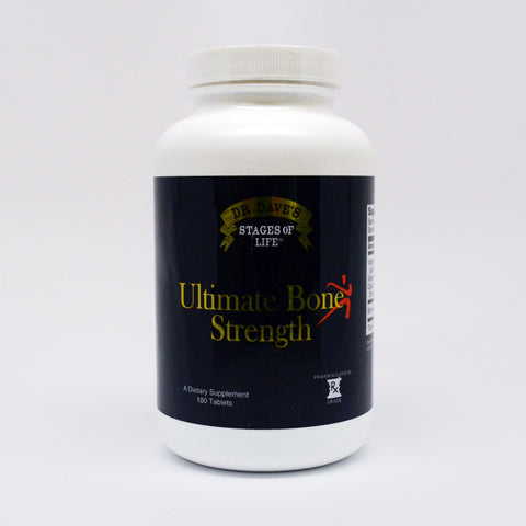 Ultimate Bone Strength - 180 Capsules