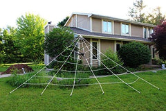 23X18ft Mega Spider Web for Outdoor Halloween Decoration