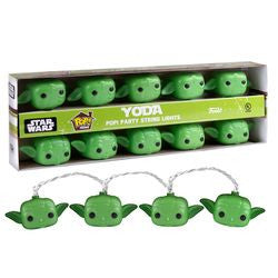 POP! HOME: STAR WARS - PARTY STRING LIGHTS YODA - Five N Dime Toys