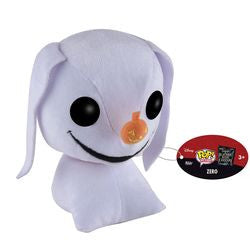 POP! PLUSH: THE NIGHTMARE BEFORE CHRISTMAS - ZERO - Five N Dime Toys
