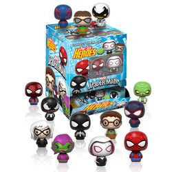 PINT-SIZE HEROES: MARVEL - SPIDER-MAN - 24CT BMB GRAVITY FEED - Five N Dime Toys