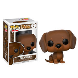 POP! PETS 07: DACHSHUND (BROWN) - Five N Dime Toys