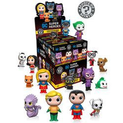 MYSTERY MINIS: DC COMICS HEROES AND PETS - 12CT BMB DISPLAY - Five N Dime Toys