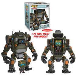 "POP! GAMES 132: TITANFALL 2 - JACK AND 6"" BT - Five N Dime Toys"