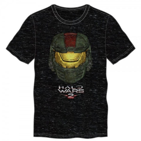 HALO WARS 2 BLACK SPACE DYE MEN'S TEE