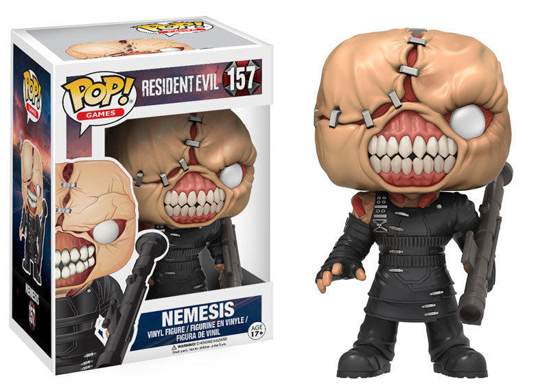 RESIDENT EVIL: POP! GAMES 157 - THE NEMESIS - Five N Dime Toys
