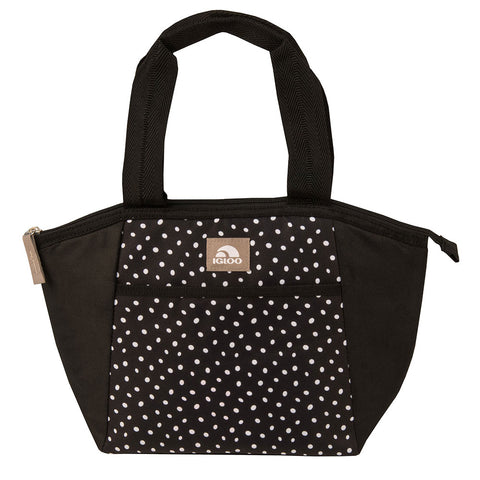 Igloo Mini Essential Tote Black & White