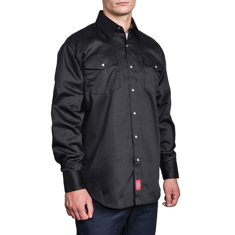 Dickies Long Sleeve Snap Solid Work Shirt