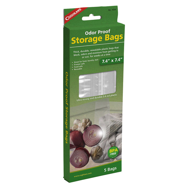 "Coghlan's 5pk 8.5"" x 10"" Odour Proof Storage Bags"
