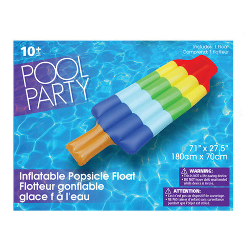 Inflatable Popsicle Float