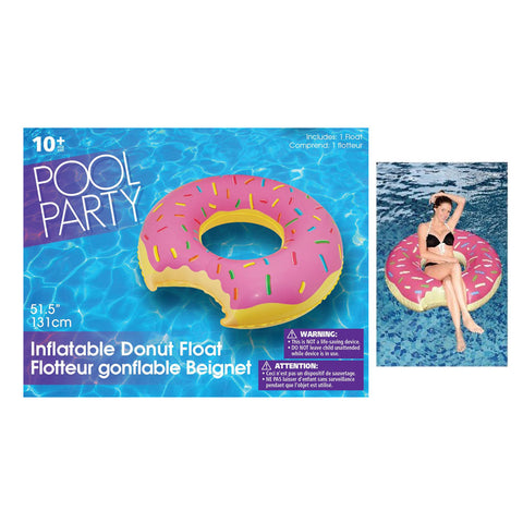 Inflatable Giant Donut Float