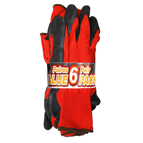 Open Road® Value Pack Polyester Gloves with Nitrile Coating