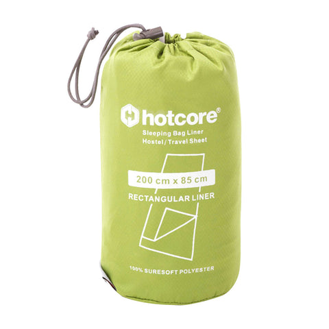 Hotcore Rectangular Sleeping Bag Liner