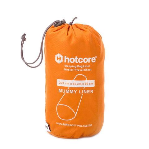 Hotcore Mummy Sleeping Bag Liner