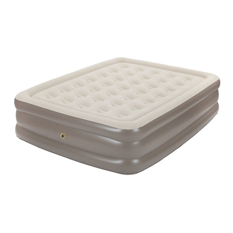 Coleman Supportrest Plus Queen Double High Antimicrobial Airbed with 120V Combo