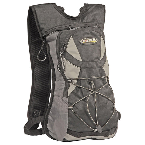 N49 Booster Hydration Pack w/2L Water Pack - Black/Grey