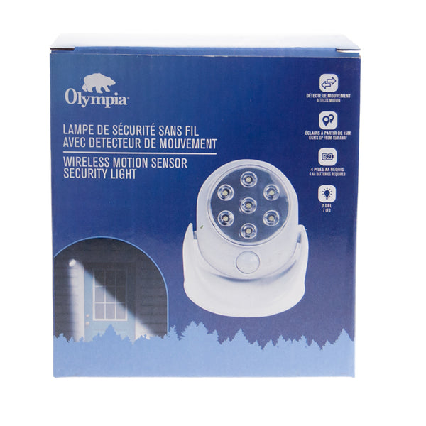 Olympia Wireless Motion Security Light