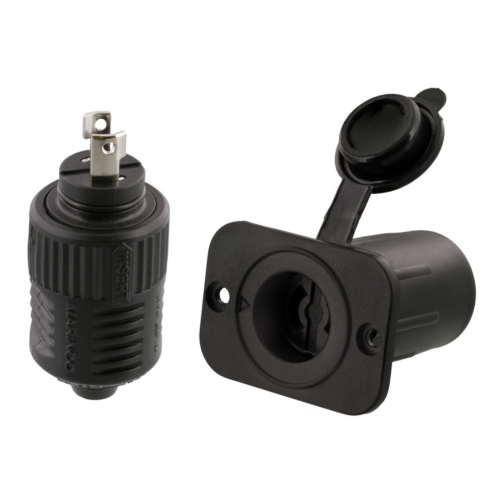 Scotty  12V Downrigger Plug and Receptacle from Marinco® #2125