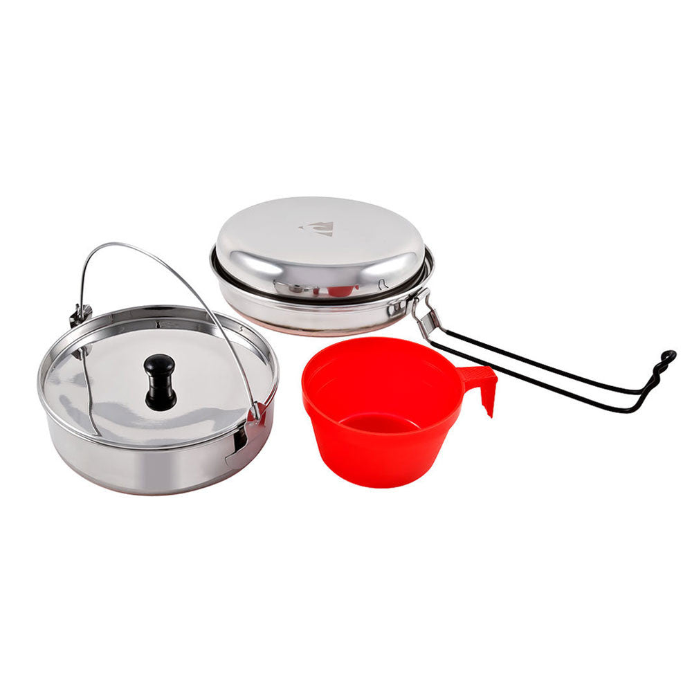 Ridgeline SS Solo Mess Kit - 5pc Set